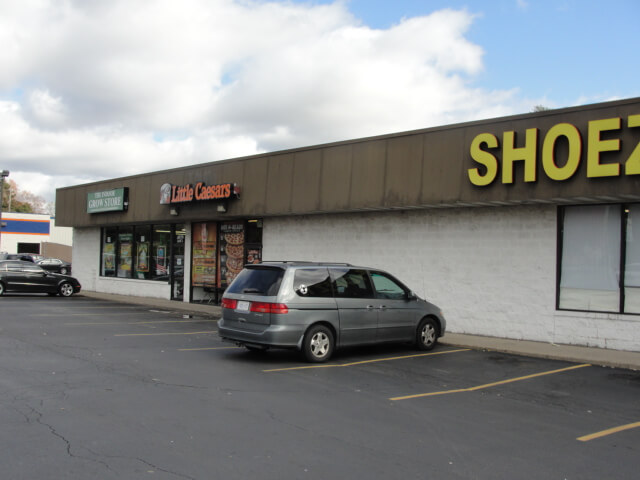 Retail Property Inspection - Retail strip mall